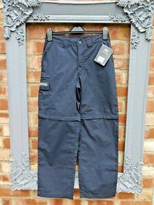 "New Regatta Navy blue water repellent zip off trousers size 30 29"" inside leg"