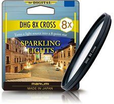 Marumi Digital High Grade Star Cross 8x Camera Filter 77mm - DHG77STAR8