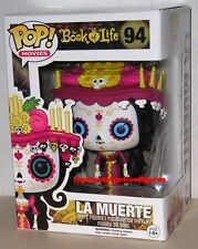 FUNKO POP 2014 MOVIES THE BOOK OF LIFE LA MUERTE #94 Sealed IN STOCK