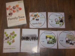 EUC/USED Ancestry.Com Essentials Family Tree Maker 2008 Windows XP S2/Vista