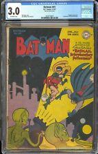 Batman 41 / CGC 3.0 Universal Blue Label / Sci-Fi Cover