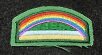 Girl Scout Daisy Bridge To Brownie Rainbow Badge Patch Iron On