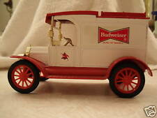 BUDWEISER 1913 FORD DIE-CAST BANK THIS IS THE FIRST ONE