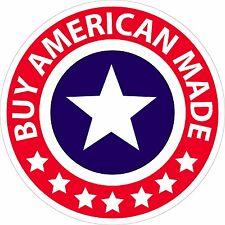 """BUY AMERICAN"" 5"" DIAMETER STICKER"