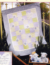 Be My Friend - sweet pieced, applique & stitchery cot quilt PATTERN - Rivendale