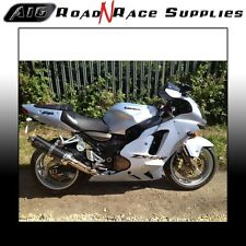 Kawasaki ZX12R A16 Carbon Exhaust ROAD LEGAL with Removable Baffle