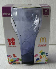 1 x 2012 London UK Olympic Limited Ed. McDonald x Coca Cola PURPLE Glass