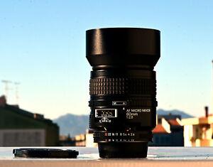 Nikon AF Nikkor Micro 60mm f2.8 - Macro 1:1 Full Frame