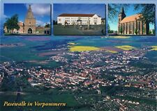Postcard Germany Pasewalk Vorpommern Pommern MV Luftbild aerial Kirche church AK