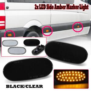 6x LED Side Marker Indicator Lamp Light For Mercedes Sprinter W906 VW Crafters