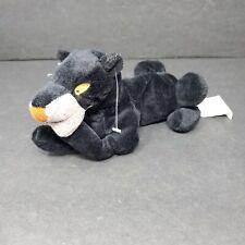 "Walt Disney Company Plush Stuffed Animal Bagheera Jungle Book Black Panther 11"""