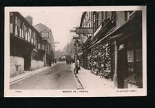 Somerset YEOVIL Middle St The Bee Hive street scene Used 1911 RP PPC Valentine