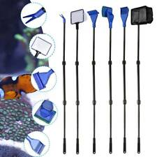 6 in1 Fish Tank Aquarium Cleaning Kit Glass Brush Fishnet Magnetic Cleaner Tools