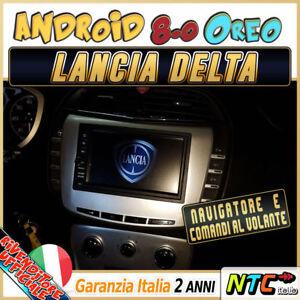 AUTORADIO Navigatore  Android 8.0 32GB / 4GB Octa-Core Lancia DELTA - Completo
