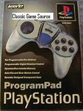 NEW IN BOX  INTERACT PROGRAM PAD CONTROLLER FOR PLAYSTATION 1 PS ONE