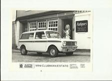 "B. Leyland Austin Morris Mini Clubman Estate PRESS PHOTO ""Car Brochure"" correlati"