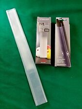 LONGONI MURANO CLEAR HANDGRIP SMOOTH SILICONE BILLIARD & POOL CUE GRIP / WRAP