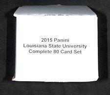 2015 Panini Collegiate_LSU Tigers_Complete 80 Card Set_Odell Beckham Jr.