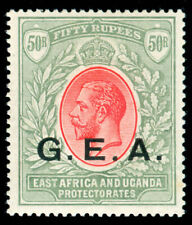 MOMEN: GERMAN EAST AFRICA SG #62 1917-21 MINT OG LH XF
