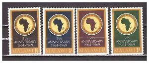 S16483) Malawi 1969 MNH African Development Bank 4v