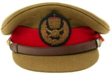 More details for wwii style ethiopian general's dress visor cap replica