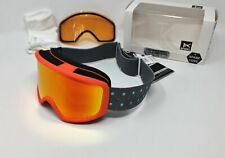 Anon 185431 Women's Deringer S&R Snow Goggles, Sonar Red & Amber Lens by ZEISS