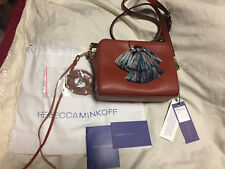 Rebecca Minkoff Mini Sofia Leather Crossbody Bag MSRP$245 NEW