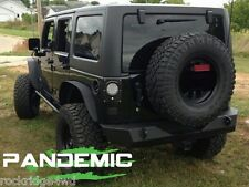 2009 Jeep Wrangler JK JKU 2 & 4 Door LED Taillight Conversion Kit W/ Clear LEDs