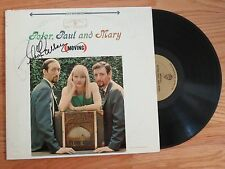 """PETER (Yarrow), PAUL and MARY signed MOVING 1963 Record """"Puff, the Magic Dragon"""