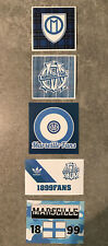 lot autocollant stickers ultras indep om  ( no cu84 mtp fanatics marseille )
