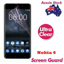 Ultra Clear Plastic Screen Protector For Nokia 6 Cover Entire Flat Screen