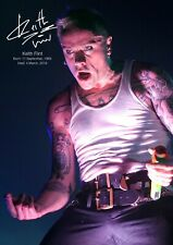Keith Flint Poster tribute #2 - The Prodigy legend - A3 - 420mm x 297mm (NEW)