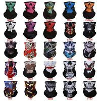 Outdoor Motorbike Biker Face Mask Headband Hiking Skull Wind Dust Proof Bandana