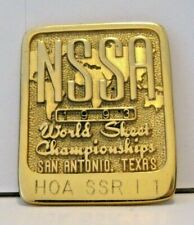 1993 Nssa World Skeet Shoot Championships Award Pin San Antonio Tx Hoa Ssr I 1