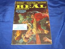 Real Oct 1961 Amazing George Gross Nazi Vs Russian Battle Cover Death Ray VG-