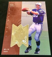 1998 SPX Finite 331 Peyton Manning The New School Radiance RC 166/1885 Colts HOF
