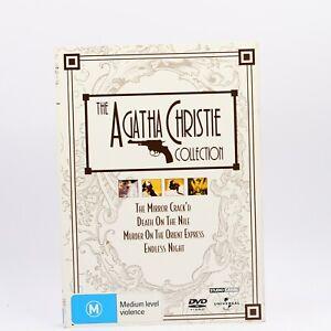 Agatha Christie's Murder Mystery Collection 4 Disc Box Set 2009 DVD R4 GC