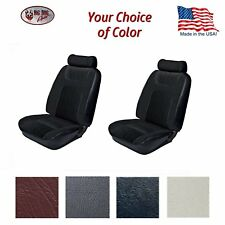 1979 - 80 Fox Body Mustang Hatchback Low Back Bucket Seat Upholstery Front/Rear