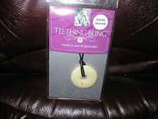 Teething Bling Smart Mom teething necklace vanilla scented NEW