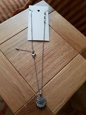 New FOSSIL Womens Crystal Necklace Pendant