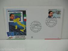ITALIA 2003 - GIANNI CAPRONI  - FDC FILAGRANO -  ANNULLO TRENTO