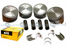 88-92 Isuzu Pickup Rodeo 2.6 4ZE1 SOHC Pistons Rings & Main Rod Engine Bearings