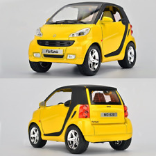 Model Car Benz Smart 1:32 Toys Sound&Light Gifts Alloy Diecast&Collection Yellow