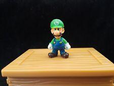 World Of Nintendo Mario Microland Luigi Miniature Figure free shipping 3+