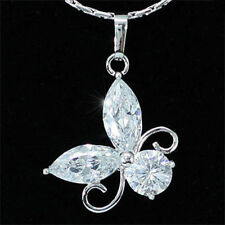 Butterfly Stone White Gold Fashion Jewellery