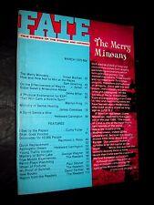 Destin Revue - March 1975 The Merry Minoans Esp Véritable Magick Ovni