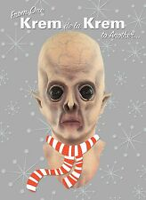 ALIEN MONSTER MASK Holiday Christmas GREETING CARD Distortions Unlimited KREM