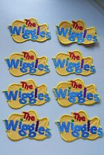 Embroidered WIGGLES LOGO MOTIF x 8