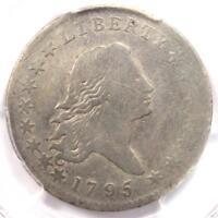 1795 Flowing Hair Bust Half Dollar 50C (O-102) - PCGS Fine Detail - Rare Coin!