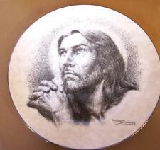 PORTRAITS OF CHRIST PLATE THY WILL BE DONE 1991 ARTIST JOSE FUENTES DE SALAMANCA